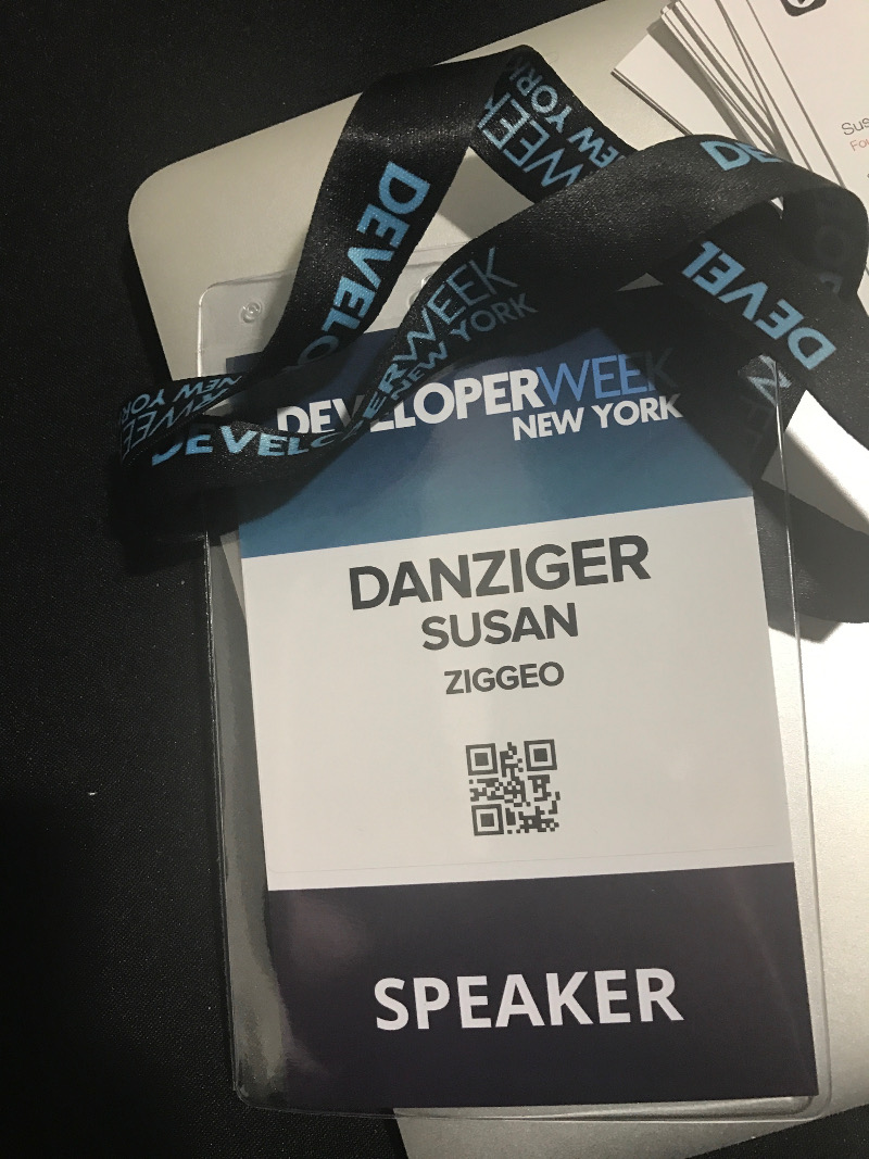 Ziggeo founder's Speaker Badge