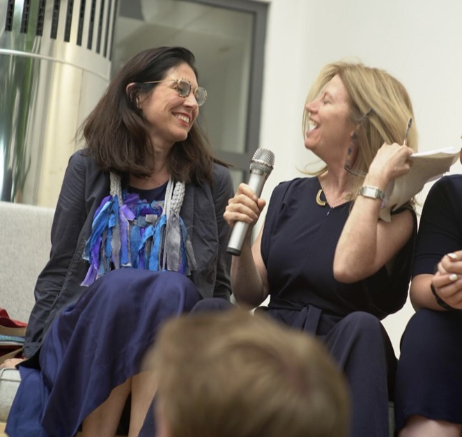 Susan Danziger interviews Lisa Witter, founder of Apolitical, one the companies Susan supports as an investor