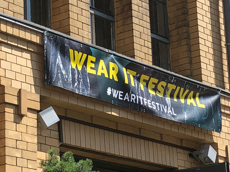 The Wear It Festival flag