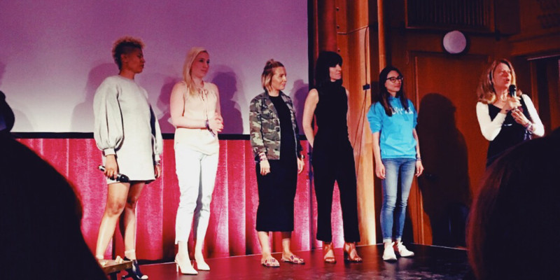 The lightning talks were given by 5 rockstar business women.