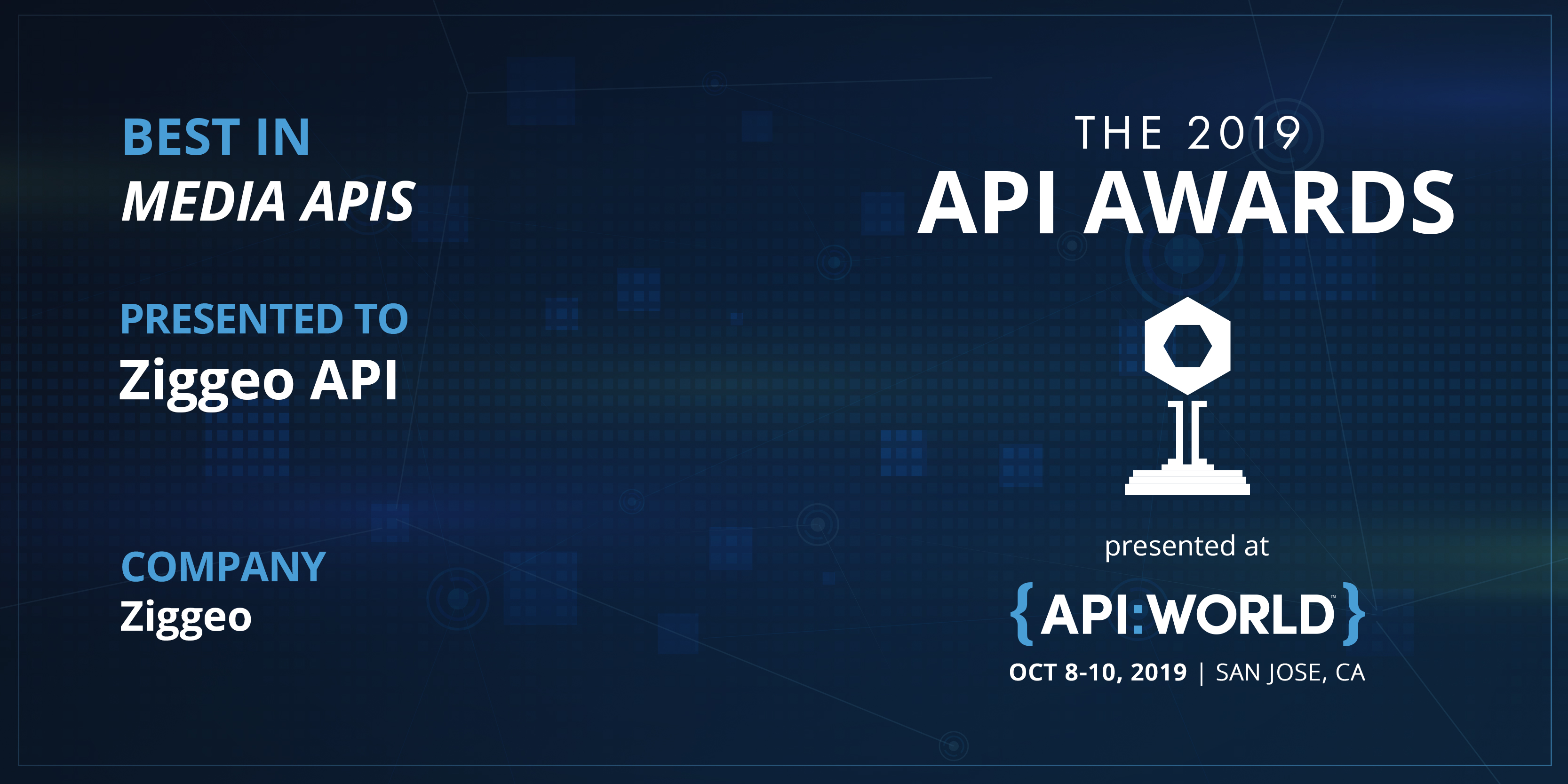 API Awards 2019